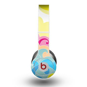 The Cartoon Bright Palm Tree Beach Skin for the Beats by Dre Original Solo-Solo HD Headphones