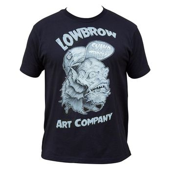 Swamp Trash Lowbrow Artwork Mens Tee