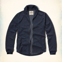 Full-Zip Fleece Cardigan