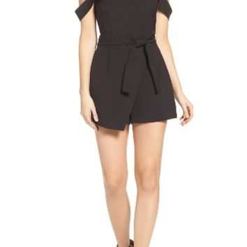 Greylin Ellie Off the Shoulder Romper | Nordstrom