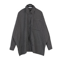 Plain Pincheck Button Down Shirt