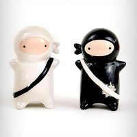 Ninjas Salt & Pepper Shaker Set
