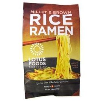 Lotus Foods Millet and Brown Rice Ramen (48x2.5 OZ)