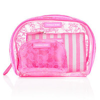 Pink Lace & Sequin Nested Bag Trio - Victoria's Secret - Victoria's Secret