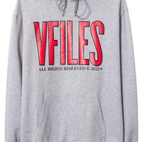 VFILES SHOP | VFILES ALL RIGHTS RESERVED | OVERSIZED HOODIE by @VFILES