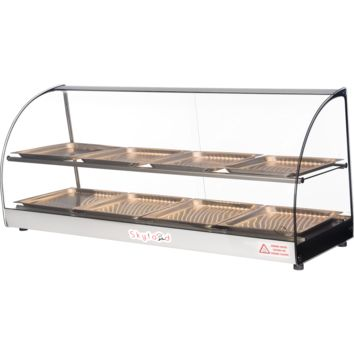 Commercial Countertop Food Warmer Display Case 44""
