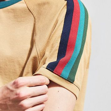 UO Taped Raglan Tee | Urban Outfitters