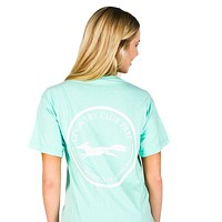 Original Logo Tee Shirt in Island Reef by Country Club Prep