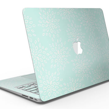 The Mint Flower Sprout - MacBook Air Skin Kit