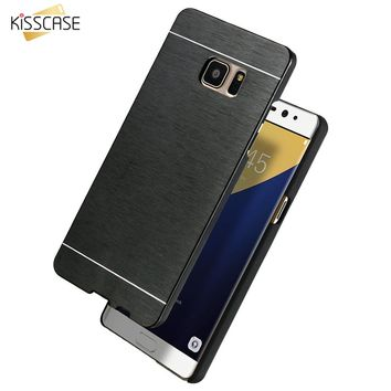 KISSCASE For LG G2 Aluminum Cover Slim Hard Metal Plastic Phone Case For LG Optimus G2 D802 D805 D801 D800 D803 LS980 With Logo