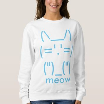 ASCII Cat Sweatshirt