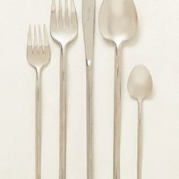 Spindle Flatware by Anthropologie in Silver Size: One Size Flatware