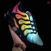 NIKE AIR VAPOR MAX PLUS New fashion personality colorful sports running air cushion men shoes