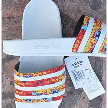simpleclothesv £º ADIDAS Adilette Casual Fashion Slipper Sandals Shoes