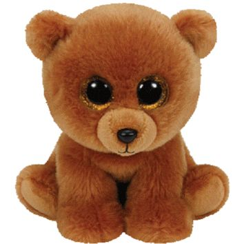 TY Brownie Brown Bear Med