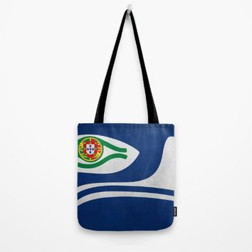 Portuguese Hawks culture Tote Bag by Tony Silveira