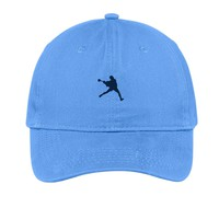 Lacrosse Unlimited Logo Hat - Light Blue