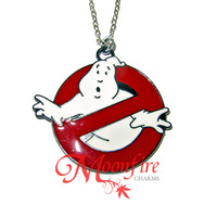 GHOSTBUSTERS Logo Pendant Necklace