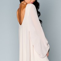Bombshell Dress ~ Stone Chiffon
