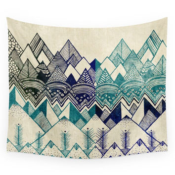 Society6 Two Worlds Wall Tapestry
