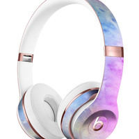 Mixed Pink 4423 Absorbed Watercolor Texture Full-Body Skin Kit for the Beats by Dre Solo 3 Wireless Headphones