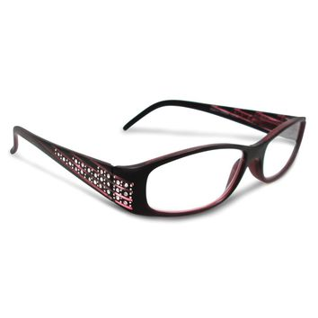 Rhinestone 2.25 Magnification Reading Glasses
