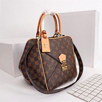 Louis Vuitton Lv Bag Monogram Brown #44
