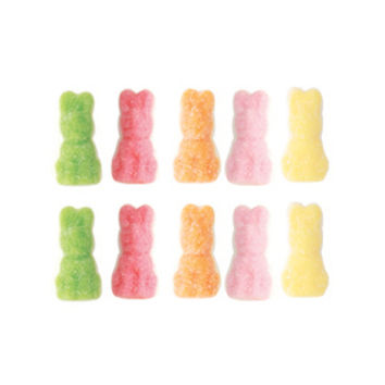 Sour Marshmallow Bunnies Candy: 10LB Case