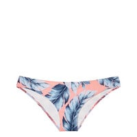Online Exclusive Ruched Mini Bikini Bottom - PINK - Victoria's Secret