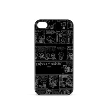 Calvin And Hobbes Comic iPhone 4 / 4s Case