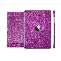 The Purple Glitter Ultra Metallic Full Body Skin Set for the Apple iPad Mini 2