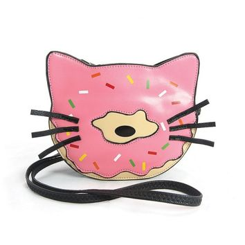 Purse - Donut Cat Cross Body Purse