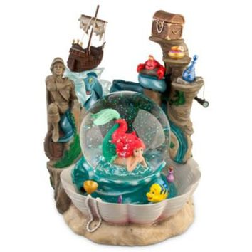 ''Ariel's Grotto'' The Little Mermaid Snowglobe | Pins, Art & Collectibles | Disney Store Exclusive | Disney Store