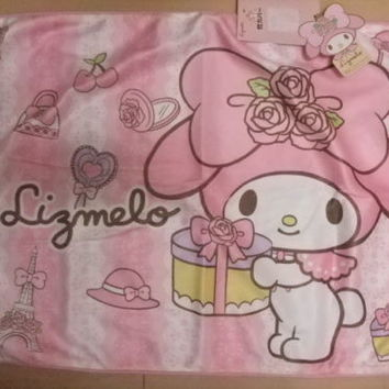 Sanrio My Melody 40th Anniversary pillow case JAPAN Brand-New kawaii 2015