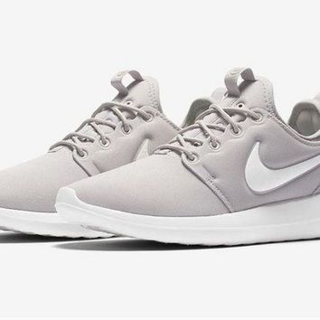 DCCKIG3 Nike Roshe Two Run 2 Men Women Running shoes Color Grey