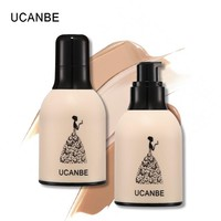 UCANBE Brand 5 Colors Face Liquid Foundation Makeup Full Coverage Concealer Whitening Primer Waterproof Long Lasting Cosmetics