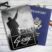 G Eazy Concert Leather Passport Wallet Case Cover