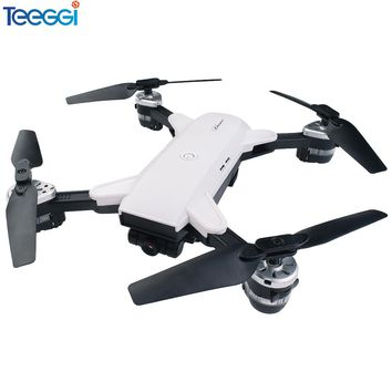 Teeggi YH-19HW Mini Foldable RC Drone With Wifi FPV HD Camera Altitude Hold Quadcopter Dron VS Visuo XS809HW XS809W Helicopter