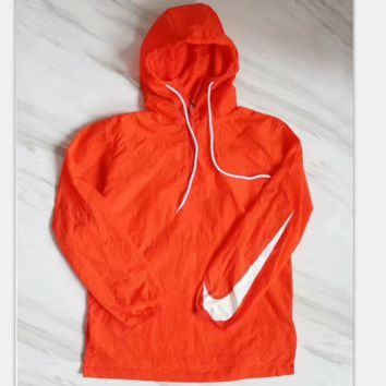NIKE Ultra-thin waterproof jacket Long sleeve Hooded pullover H-A-XYCL