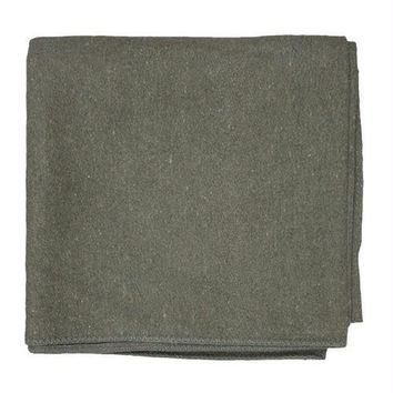French Army Style Wool Blanket