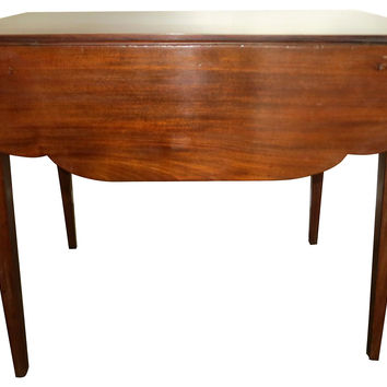 19th-C. Mahogany Pembroke Table