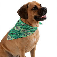 Chobopop Nineties Dinosaur Skeleton Pattern Pet Bandana
