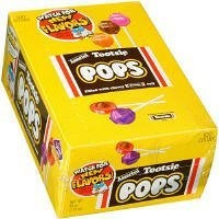 Tootsie Pops-Variety Pack, 100 Pops, 60 Ounces