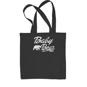Baby Bear Cub Shopping Tote Bag