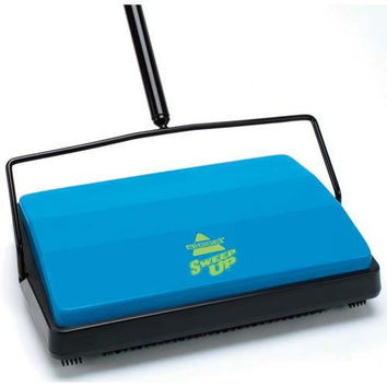 Bissell Sweep-Up Cordless Sweeper model 21012, blue