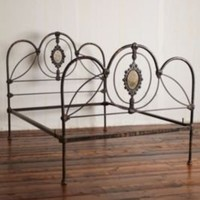 Vintage English Cast Iron Bed Frame at Free People Clothing Boutique
