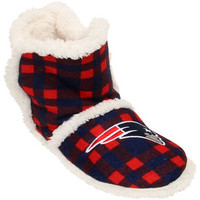 New England Patriots  Official NFL Flannel Sherpa Boots