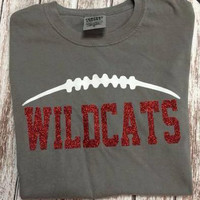 Game Day Football T-Shirt In Your Team Colors