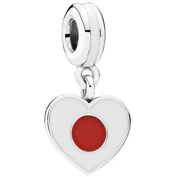 Authentic Pandora Jewelry - Heart Flag - Japan