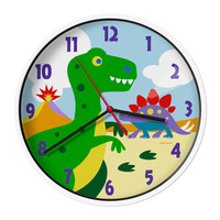 Olive Kids Dinosaur Land Wall Clock - 623412